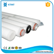Chemical Compatible PP Paper Pleated Filter Cartridge for Injection Water Particles Removal