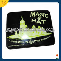 Custom black printing iron fridge magnet for souvenir