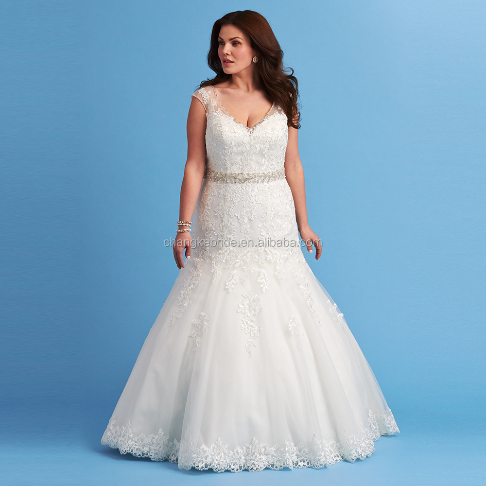 Mermaid Wedding Dress Plus Size, Mermaid Wedding Dress Plus Size ...