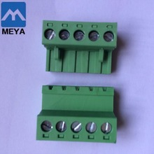 Terminal block SMT 1.6mm PCB board with pitch 5.0mm rate 300V 10A KEFA KF2EDGKGP-5.0