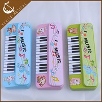colorful pencil hard case musical instrument gift