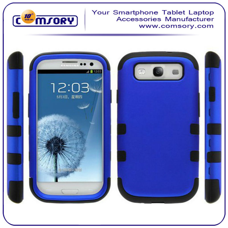 for Samsung Galaxy S3 SIII i9300 Combo Dual Layer Phone Protective Case Cover