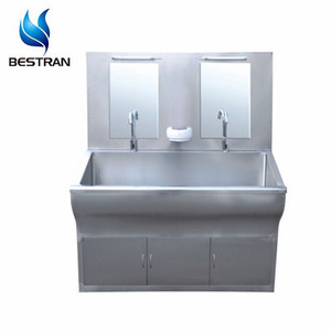 BT-WSK09 304 Stainless Steel medical surgical scrub sinks