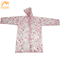 PVC Raincoat Rain Coats Rainwear For Kids