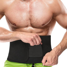Waist Trimmer Weight Loss Ab Belt - Premium Stomach Wrap and Waist Trainer