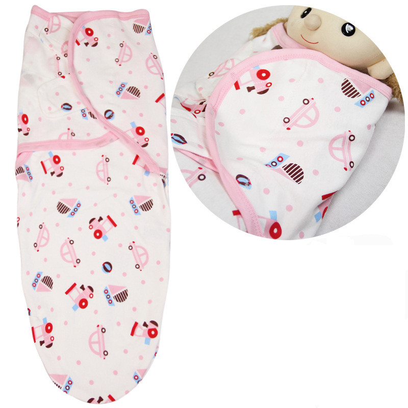 100% Cotton Baby Sleeping Bags Sleep Sack Swaddle With Sleeves