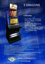 Customized Jammer slot machine Cabinet maquina tragaperras para los casinos electronic poker table