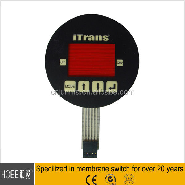 hot sale tinted LCD window membrane tactile button switch