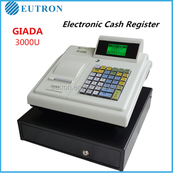 factory cheap portable electronic cash register machine
