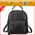 Factory customized high quality genuine leather ladies backpacks private label