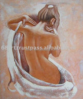 Modern woman nude oil Painting