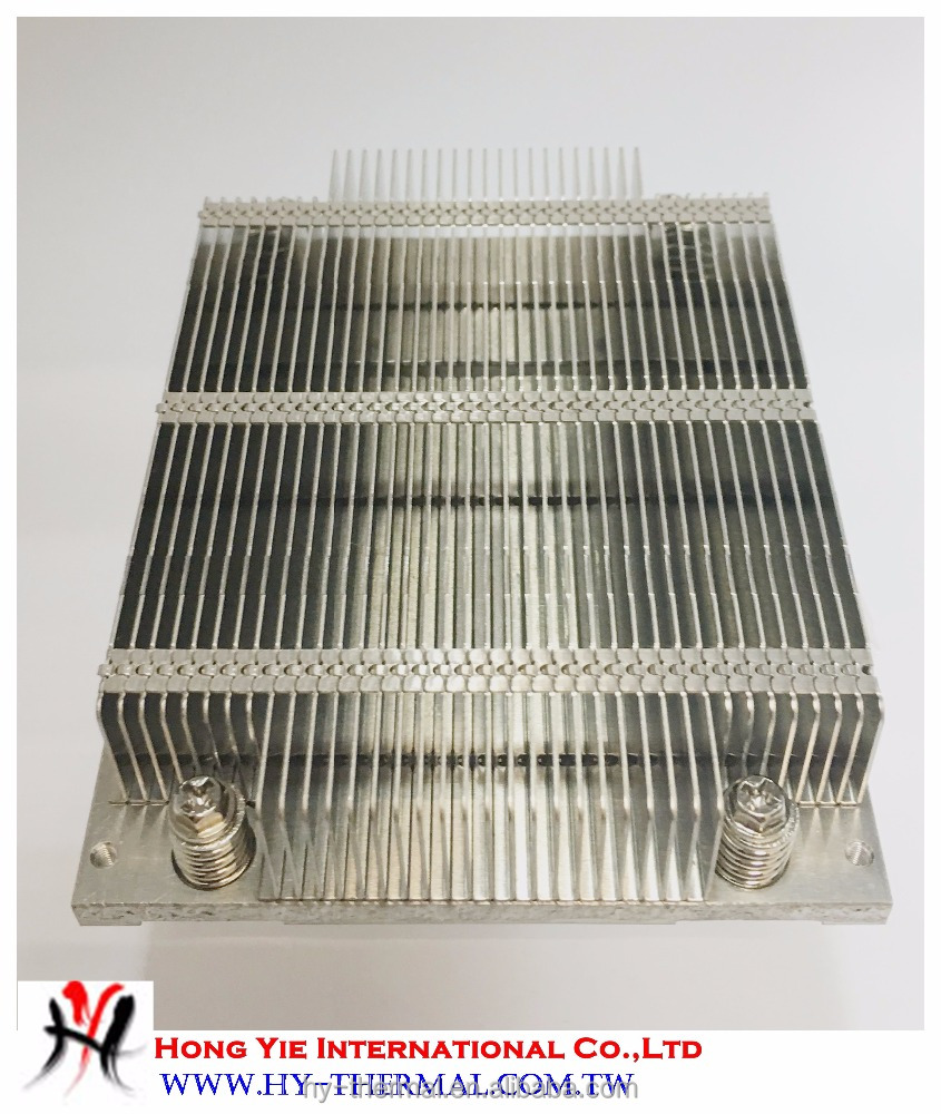 Aluminum extrusion profile H13A grease cooler
