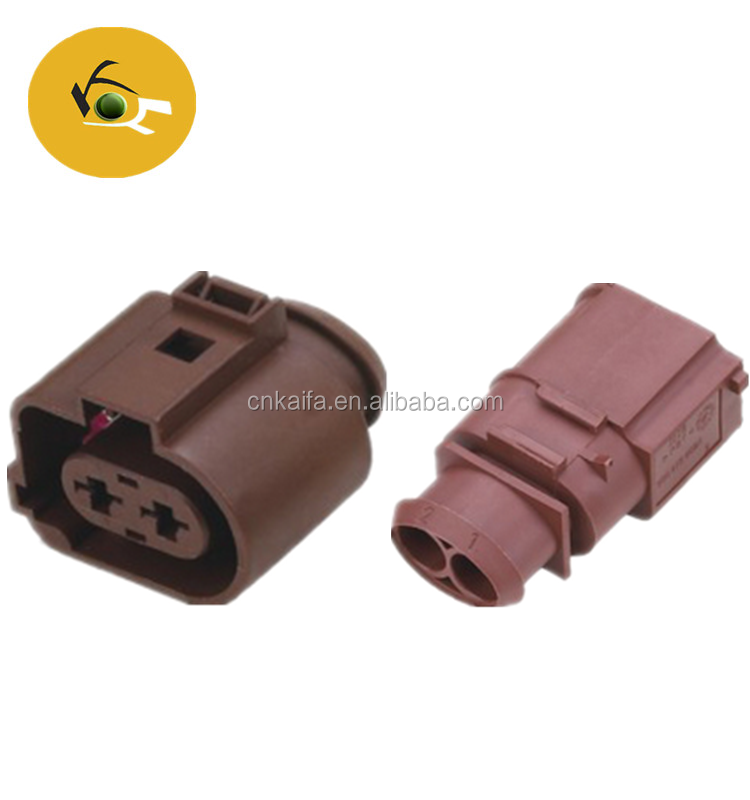 CNKF Supply Auto Plug 6.3mm Pitch 2 Pin Waterproof VW Car Connectors