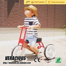 Best selling kids three wheel bikes push baby tricycle with canopy kids tricycle with eva tire with low price