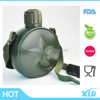 Military using bottle 18/8 double wall stainless steel vacuum sport water bottle with compass