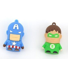 Promotional gifts Spiderman, Batman, Superman usb flash memory, wholesale buy from alibaba express.