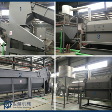 Plastic PP PE woven bags film recycling machine crushing washing line