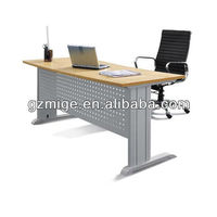 Yellow Desktop Metal Frame Office Desk