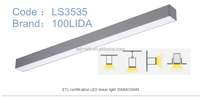 1200 mm 30w 2016 Hot Sale Led Linear Light for Projecting Lighting 35mm*35mm LS3535