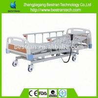 BT-AE105 al-alloy side rail individual brakes China cheapest pneumatic hospital bed factory