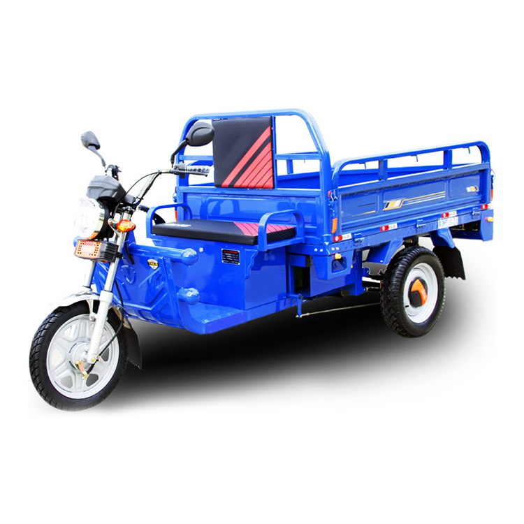Battery powered 60V transport cargo electric tricycle
