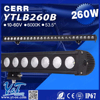 Y&T YTLB260B 260w super power consumption car 4x4 alibaba express italy LED light bars black color