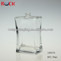 99ml clear copy perfume glass bottle for sale