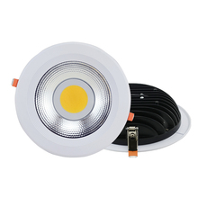 25W 30W 35W 40W recessed COB LED Downlight 8 inch 10 inch