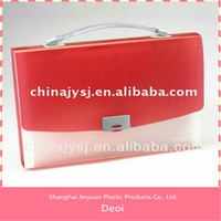 profesional OEM factory and customized durable plastic PP handle archive document files box case