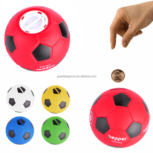 Factory Direct Custom Football Shaped Plastic Piggy Coin Bank
