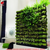 Factory direct outdoor use large living artificial vertical garden hanging wall