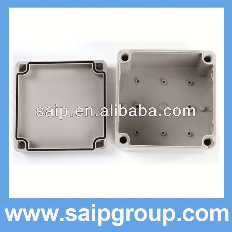 2013NEW ABS box IP65 custom plastic enclosures DS-AG-1212(125*125*100)