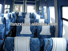 fabric bus reclining chair for 2+1 layout bus