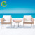 Modern coffee table sets with 2 coffee chairs garden table and chairs LG24-2408&2409
