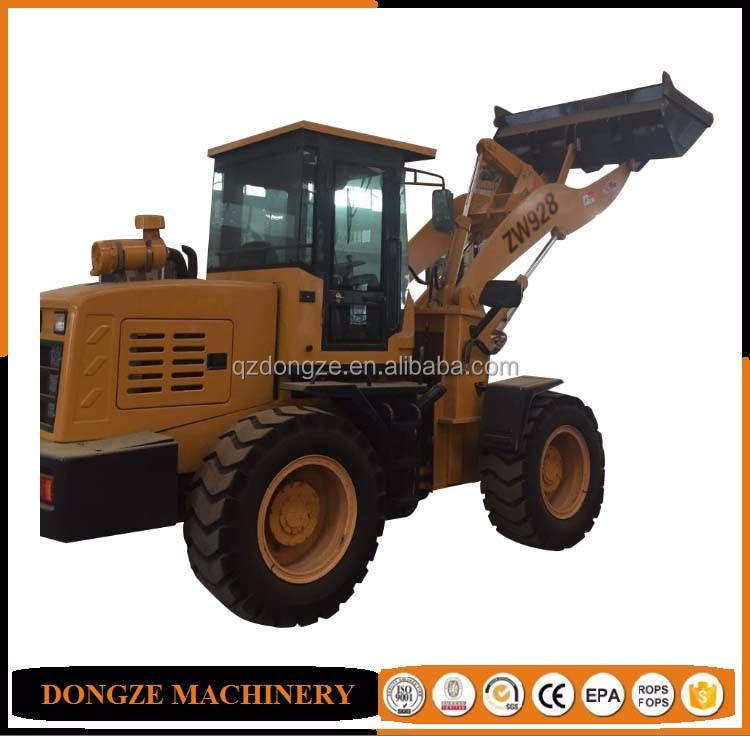 Wheelloader with snow bucket for sale