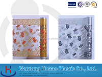 plastic membrane calender roll wedding curtain packing foil window curtain patterns