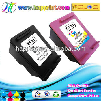 for Hp61 Ink Cartridge for Hp CH561W 61 for Hp 61XL Black Color CH563WN CH564WN Remanufactured Ink Cartridge