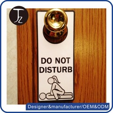 Customized Exquisite stainless steel do not disturb door sign