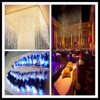1m x2m 200led curtain light/led snowfall curtain lights/led twinkling stars led curtain lights