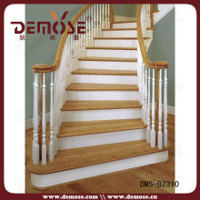 decorative indoor wood rails for stair
