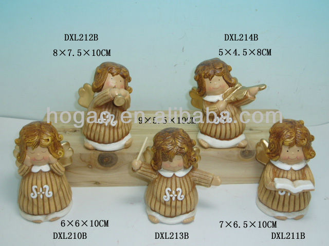 Polyresin baby angel figurines