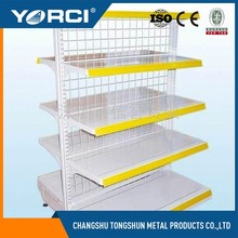 Russian Wire mesh back supermarket shelf with low price