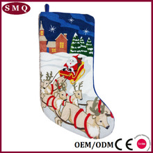 Jingle Bells design gift for kids wholesale custom decorative Christmas Stocking