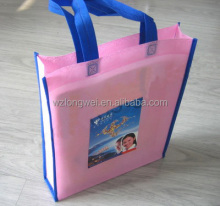 Top Quality Ultrasonic Custom Print PP Laminated Non-woven Bag