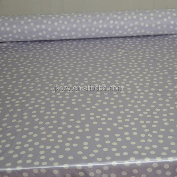 dot mulberry silk satin fabric