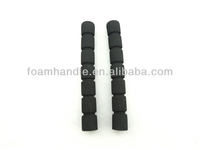 Custom foam rubber cylinders plastic foam handle / soft foam hard platic handle / plastic core foam rubble grip