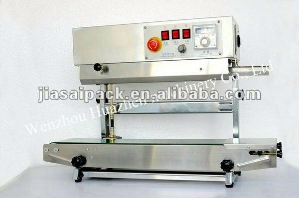 pouch filling sealing machine 900 MODEL automatic band sealer good sell vertical bag sealer