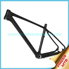 YISHUNBIKE Wholesale 650B FM259 Chinese t700 OEM Mountain carbon bicycle frame BB92/PF30