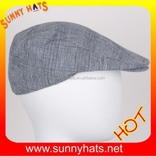 linen gatsby cap men newsboy ivy hat flat golf driving cabbie hat