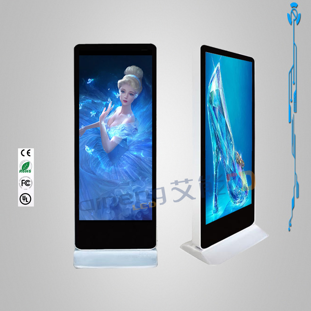 hot sale free standing led signs outdoor/indoor led display module factory price Android 3g wifi